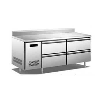 抽屉式工作台冰箱(工程款管冷+工程款风冷)